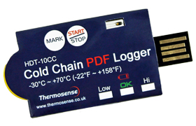 Cold Chain USB Data Loggers