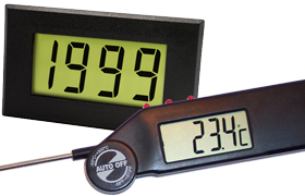 LCD Displays and Thermometers