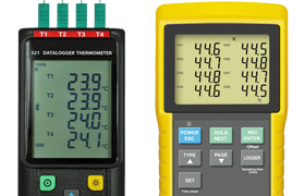 Multi Channel Thermocouple Data Loggers