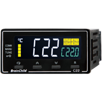 (C22) C Series Fuzzy + PID Temperature/Process Controller (48 x 24 x 92mm)