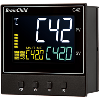 (C42) C Series Fuzzy + PID Temperature/Process Controller (96 x 96 x 59mm)