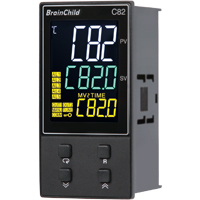 (C82) C Series Fuzzy + PID Temperature/Process Controller (48 x 96 x 59mm)