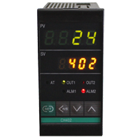 (CH402) 4-Digit Dual Display PID Temperature Controller (48mm x 96mm x 100mm)