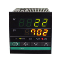 (CH702) 4-Digit Dual Display PID Temperature Controller (72mm x 72mm x 100mm)