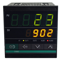 (CH902) 4-Digit Dual Display PID Temperature Controller (96mm x 96mm x 100mm)