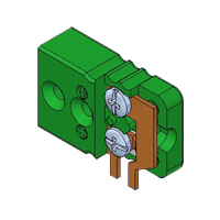 FCB3 - Miniature PCB Socket - Side Mounting