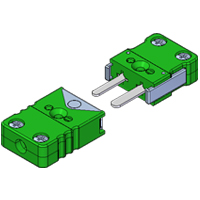 (FMLP/FMLJ) Miniature Locking Thermocouple and RTD Connectors
