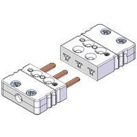 (FMPT/FMJT) Miniature 3-Pin Thermocouple and RTD Connectors