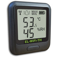 (HDT-WIFI) WiFi Temperature and Humidity Data Logging Sensor