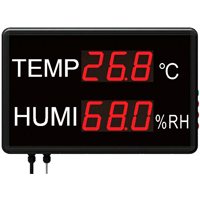 (HTM-823) Large LED Temperature and Humidity Display