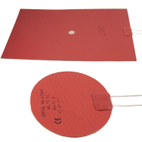 (LM) Silicone Rubber Mat Heaters