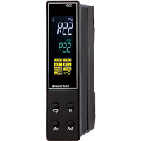 C Series Fuzzy + PID Temperature/Process Controller (22.5 x 96 x 83mm)