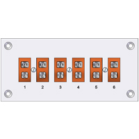 (RPH) Pre-assembled Standard Thermocouple Connector Panels (High Temperature)