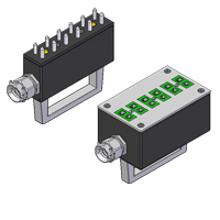 (RPS/RSS) Standard 6-Way Thermocouple and RTD Connectors