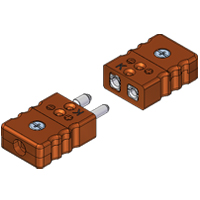 Standard High Temperature Thermocouple and RTD Connectors